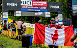 Autographed Canadian Chainsaw Flag Fundraiser for Stevie Smith