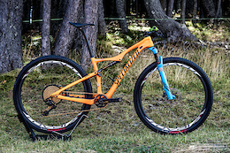 Annika Langvad's Specialized Era 29 - Vallnord XC World Cup 2016