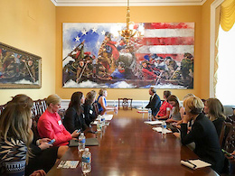 Making Friends in Congress: Lobbying For Bikes in the USA