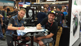 Macduff and Rogatkin Autograph Signing at Interbike