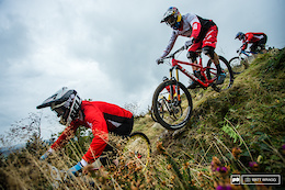 Gee Atherton's POV from Red Bull Foxhunt 2016