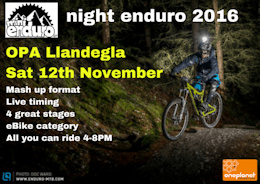 Mash Up Night Enduro at Llandegla