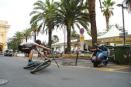 Phil Atwill gets Loose in Finale Ligure, Italy