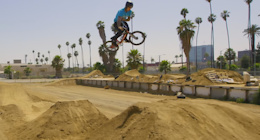 One Shot: BMX Riding With Maris Strombergs - Video
