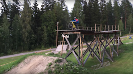 Adrian Tell - World's First Back Flip to Manual to Front Flip - Video