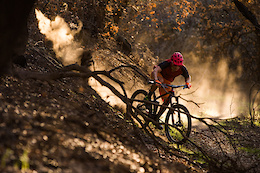 Riding Through A Wildfire Zone - Video