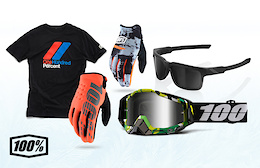 Win a 100% Prize Package - Pinkbike's Advent Calendar Giveaway