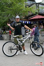 The sites and sounds of Crankworx-a visual stimulation that Cory's mom could never deliver!