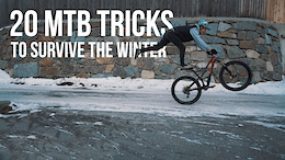 Fabio Wibmer's 20 Tricks for Winter - Video