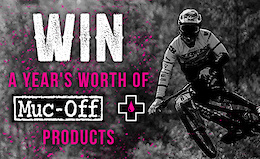 Win a Year's Supply of Muc-Off Products