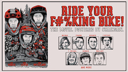 Ratboy, Loosedog, Voreis - Ride Your F#%king Bike Movie Trailer