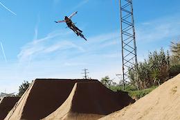 Markus Saurer Flipping and Spinning at La Poma - Video