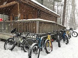 Fat Biking Marquette, Michigan
