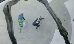 Danny MacAskill and Hans Rey Freeriding in Arkansas - Video