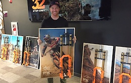 Fox Auctioning Off Race Forks to Benefit Road 2 Recovery