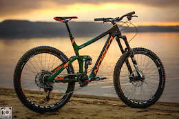 Sam Blenkinsop and Joe Smith's EWS Norco Range Bikes