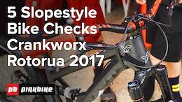 30 Second-ish Bike Checks 3 with Tippie - Slopestyle Bikes