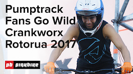Pump Track Challenge Presented by RockShox, Crankworx Rotorua 2017 - Official Video
