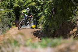 Big Win for Kiwi in Crankworx Rotorua Air DH