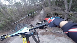 Helmet Cam Preview With Fab Cousinié - EWS Round 2, Tasmania