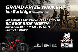 BC Bike Ride Contest: Grand Prize Winner Announced!