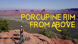 Moab From Above, Porcupine Rim - Video