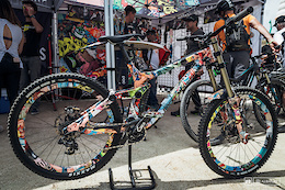 Shiny Custom Painted Bikes – Sea Otter 2017