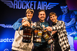 Swatch Rocket Air: Nicholi Rogatkin Does it Again
