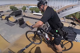 Bike Cop Hits 60ft Nitro Circus Mega Ramp – Video