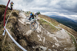 HSBC UK National Downhill Series Round 2, Fort William - Practice