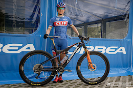 Catharine Pendrel's Orbea Oiz Bike Check - XC World Cup Round 1, Nove Mesto
