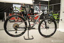 Helen Grobert's Cannondale Scalpel Si – XC World Cup Round 1, Nove Mesto