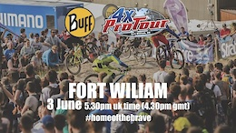 4X Pro Tour Round 3, Fort William – Livestream
