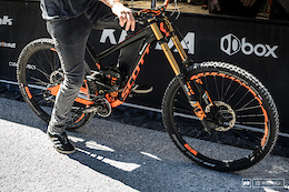 Spotted: Brendan Fairclough's Scott Gambler 29er - Leogang DH World Cup