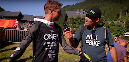 30 Second-ish DH Bike Checks with Tippie - Crankworx Les Gets 2017