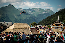 Just the Tip at Les Gets Slopestyle - Crankworx Les Gets 2017