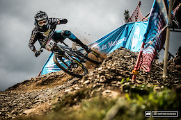 A Brewing Storm: Vallnord DH World Cup 2017 - Practice Photo Epic
