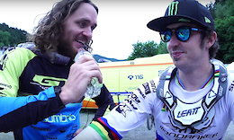 WynTV: Post Race Interviews - Vallnord DH World Cup 2017