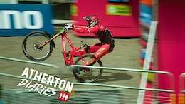 Atherton Diaries Episode 7: Racing Andorra World Cup, Rally Cars, Rowboats and Rach's First Ride - Video