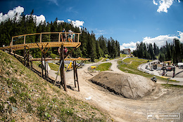 Short and Sweet - Track Walk Photo Epic: Lenzerheide DH World Cup 2017
