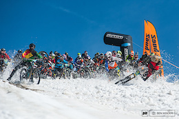 Mass Start Mayhem at the Megavalanche - Video
