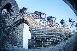 David Cachon Rides the Great Wall of China - Video