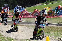 Vallnord Invaded by Kids with their Push-Bikes