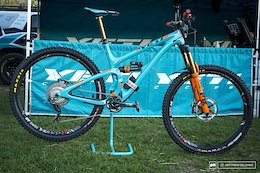 Bike Check: Richie Rude's Yeti SB5.5 - EWS Aspen 2017