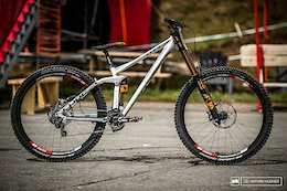 Cube's Prototype 29er DH Bike - Mont-Sainte-Anne DH World Cup 2017