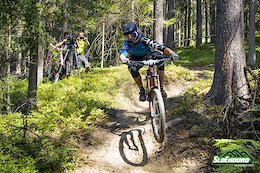 SloEnduro: Peršak and Bernhard fastest at Black Hole Enduro - Video
