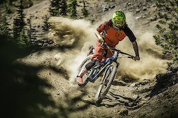 Complete berm destruction is Alex Walker's MO.  Here he is proving why he's one of the most wanted men at Mt. Bachelor.