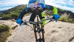 Aaron Gwin Pins Laguna Beach's Top of the World Trail - Video