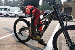 New Polygon DH Bike Sighted at Whistler