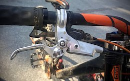 Prototype Hayes DH Brake - Crankworx Whistler 2017